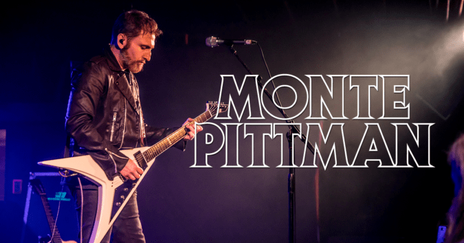 MONTE PITTMAN Direct Support For 2019 Tony Macalpine N. American Tour